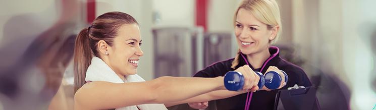 Bewerbung als Fitnesstrainer