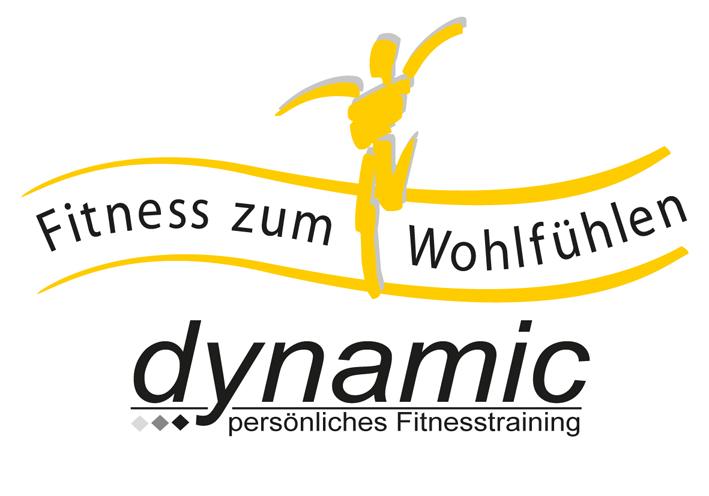 Dynamic persönliches Fitnesstraining Logo