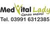 MedVital Lady Logo