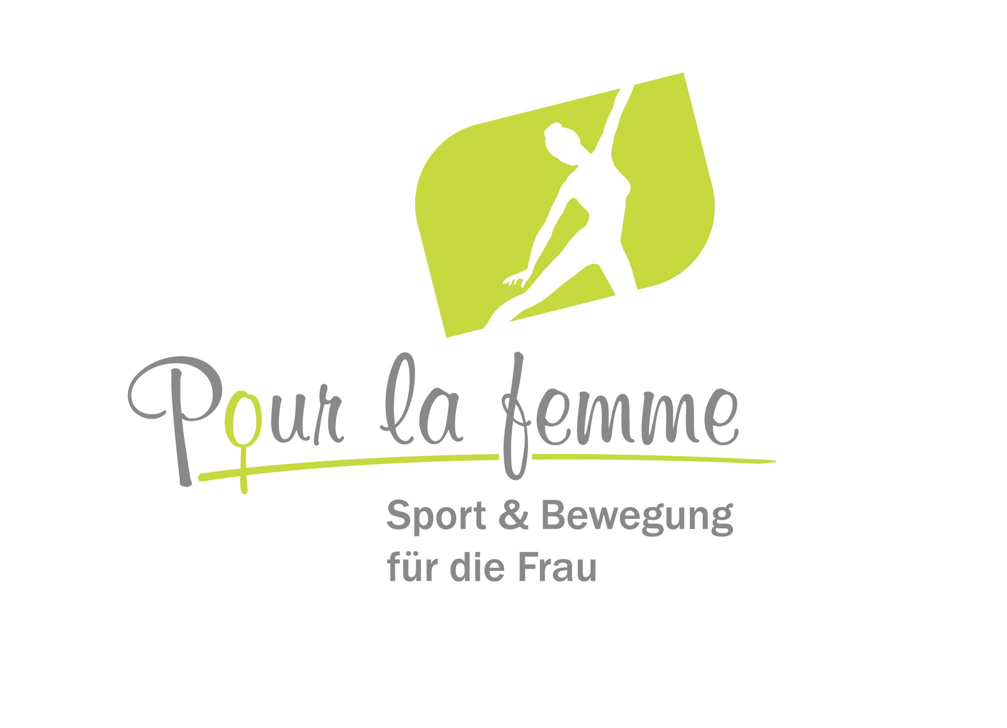 Frauensportstudio Pour la femme Logo